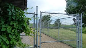 gated fence